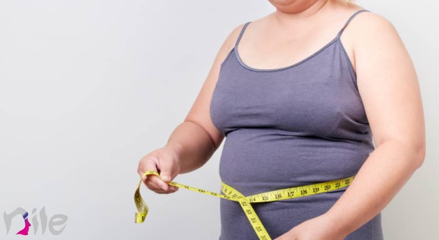 این خانوم با چاقی موضعی چه کند؟