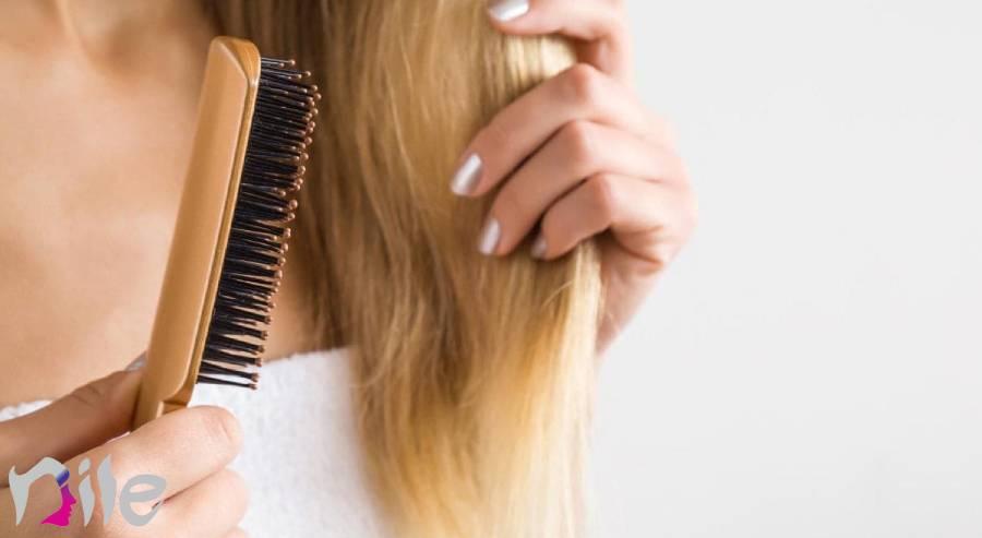 علت نازک شدن مو