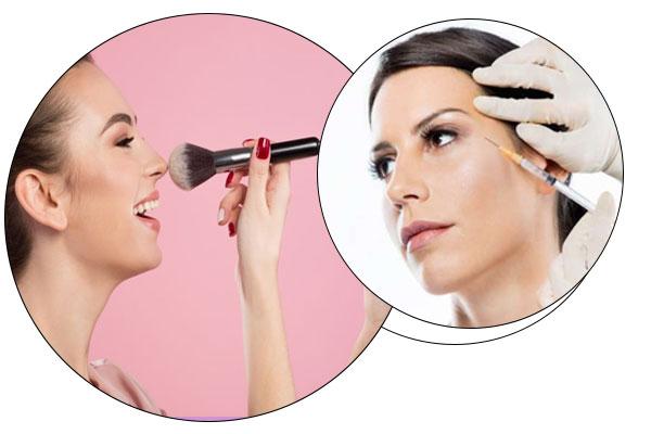تزریق بوتاکس و آرایش